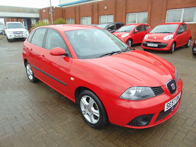 2008 Seat Ibiza 1.2 12 Reference Red 5 Door
