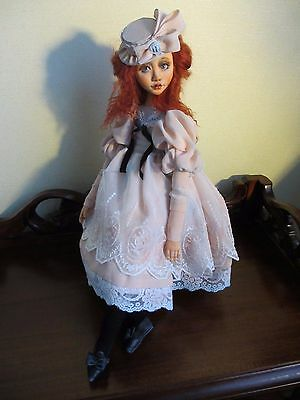 "ooak art doll ""Claire"""
