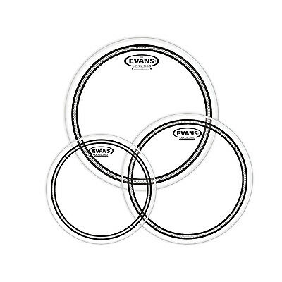 Evans Tom Pack Fusion EC2S Clear - Fell-Set 10''-12''-14''