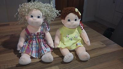 Ty Beanie Kids Blondie & Curly  - Cute Plush Collectables