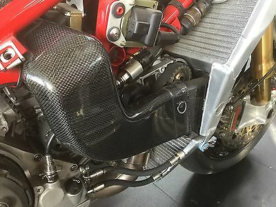 Ducati 999 RS Factory Racing Carbon Air Duct For Cambelts