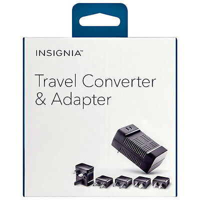 Insignia - Travel Adapter/Converter (NS-MTC1875-C)