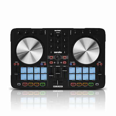 Reloop Beatmix 2 MK2 / Beatmix II, 16x Multi Colour Pad & DJ Controller for Ser