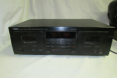 Yamaha Hi-Fi Model K-902 Dual Deck Cassette Recorder Natural Sound LOOK!!