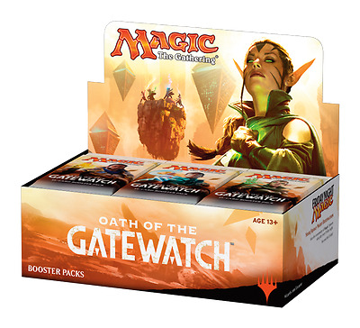 Magic the Gathering Oath of the Gatewatch boosters box