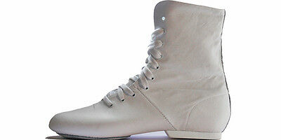 Leather Rubber/suede Sole Jazz Dance Boots Adults/childrens