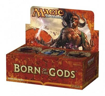 Magic the Gathering BORN OF THE GODS boosters box