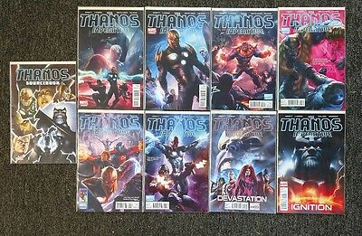 Thanos Imperative 1-6 Plus One Shots and Sourcebook Marvel Full Run Set