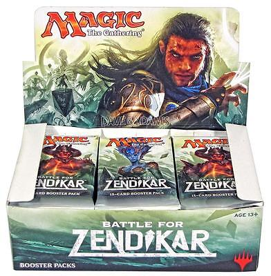 Magic the Gathering Magic battle for zendikar boosters box