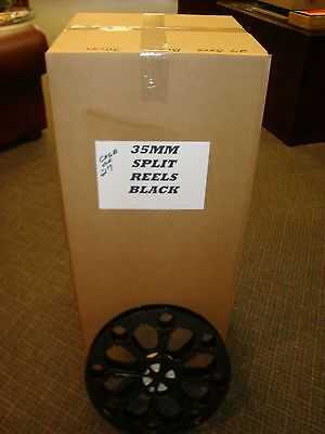 35mm Feature Film Split Reels   2000'   BLACK  Group of 25