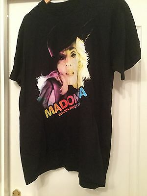 Madonna Sticky And Sweet Concert T Shirt