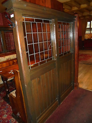 Stained Glass & Wood Dividers ~ Screen ~ Home ~ Pub ~ Restaurant~  Hotel ~ Club