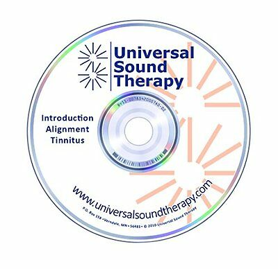 Natural Tinnitus Relief - Sound Therapy Treatment CD - Help Stop Ringing