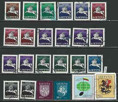 #7527 LITHUANIA LIETUVA LITAUEN Clearance Lot Used & Mint