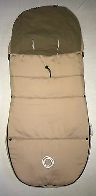 Bugaboo Universal Footmuff In Sand With Toggle   Free Postage