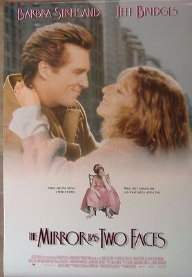 The Mirror Has Two Faces (1996) ORIGINAL D/S INT ONE-SHEET MOVIE POSTER