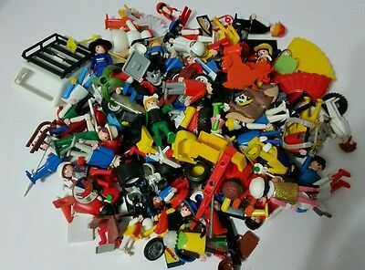 Playmobil Action Figure and Accessories huge lot approx. 2.5 pounds