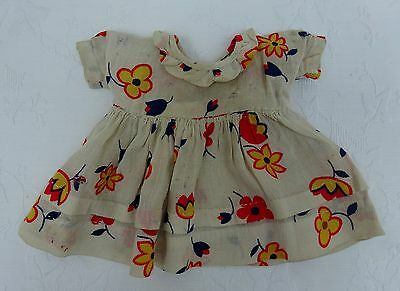 Dolls Party Frock Dress Early/Mid Century Outfit Clothes Vintage Antique Doll