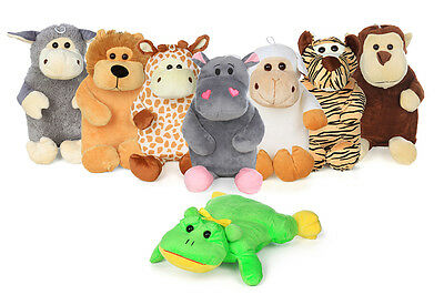 Hot Bottle Water for Children very soft warm animals gift present