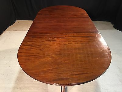 George Iii Style Brazilian Mahogany Dining Table Professionally French Polished