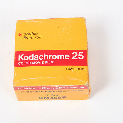 Vintage KODACHROME 25 Color Movie FILM NEW Double Roll 8 MM 1979