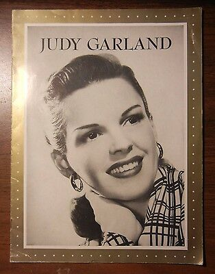 3 Souvenir Programs Magazines - Judy Garland, Gracie Fields and Danny Kaye