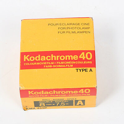 Vintage KODACHROME 40 Color Movie FILM NEW Double Roll 8 MM 1980