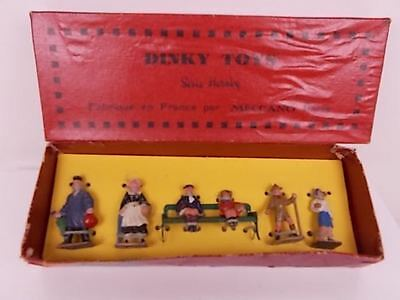 French Hornby O Gauge Dinky Toys Passenger Set No. 2 (Boxed)