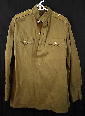 Vintage Soviet Russian Military USSR Uniform Army Jacket And Pants Tank Pins