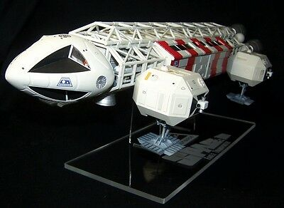 """acrylic display stand for MPC  22"""" Space 1999 Eagle Transporter model"""