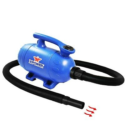 Pet Dryer B-4+,3HP,10AMP,120CFM,Variable Speed,Dryer/Vacuum,Commer. Hose Xpower