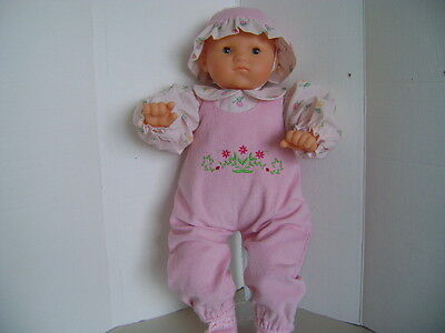 """Handmade Overall Set fits 20""""-22"""" Baby Dolls and Reborn Dolls"""