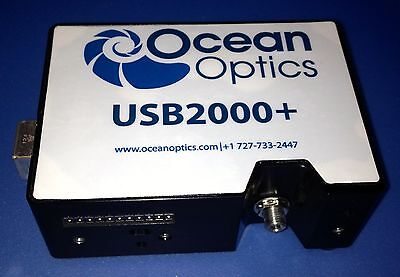 Ocean Optics USB2000+ UV-VIS Spectrometer 200-850 nm