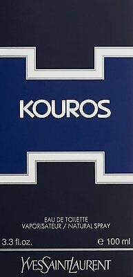 YVES SAINT LAURENT KOUROS Eau de Toilette EDT 100ml.