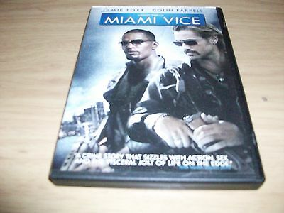 Action Movie: Miami Vice!! Used & In Excellent Condition!! Colin Farrell!!!