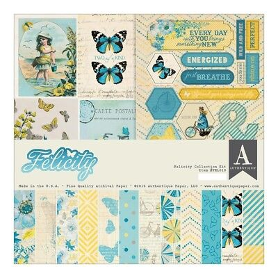 Authentique - 12x12 Collection Kit - Felicity