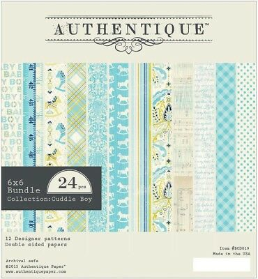 Authentique -  6x6 Paper Pad - Cuddle Boy