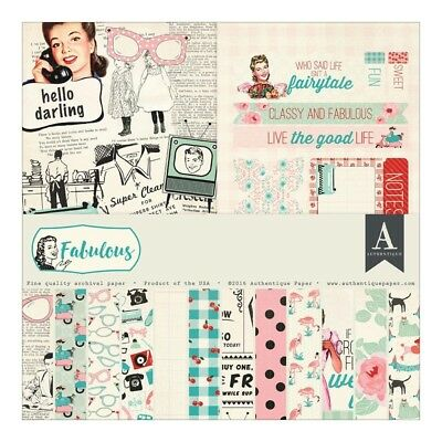 Authentique - 12x12 Collection Kit - Fabulous