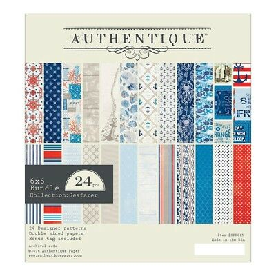 Authentique -  6x6 Paper Pad - Seafarer
