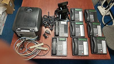 Toshiba Strata CTX100 Complete System with Voicemail & 8 DKT Phones