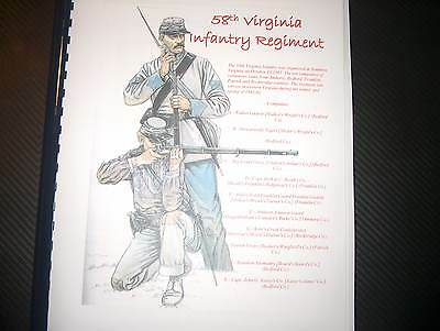 Civil War History of the 58th Virginia Infantry Regiment