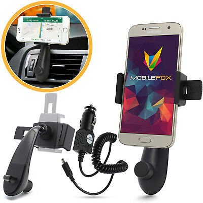car holder Mount & USB Charging Cable Set for Samsung Galaxy S7/S6/Edge/Plus
