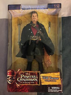 Pirates of the Caribbean: At World's End - William Turner Doll (Zizzle)