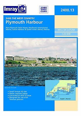 2400.13 Plymouth Harbour Admiralty Nautical Sea Chart Sailing