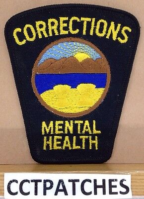 Ohio Corrections Mental Health (Police) Shoulder Patch Oh