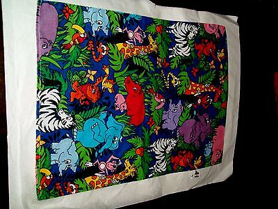 """Pillow Case For Children Wild Animal By Core Products Inc. 23""""L & 16""""W"""