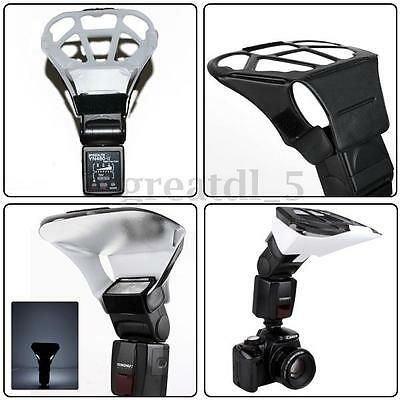 Photography Flash Light Strobe Soft Box Diffuser Reflector Holder For Canon