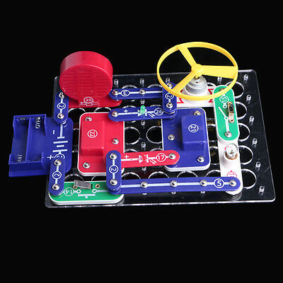 Snap Circuits Electronics Discovery Blocks Kit Science DIY Educational Toy Kids