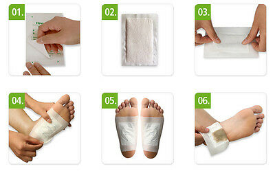 Over 350 100% Natural Australian Detox & Pain Relief Foot Patches