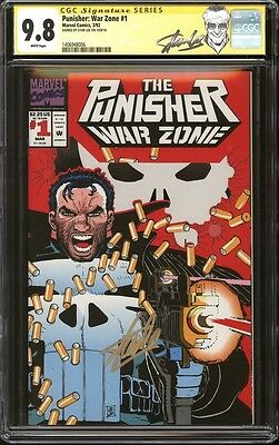 Punisher: War Zone #1 CGC 9.8 SS Signed Stan Lee Marvel Comics Netflix TV Show